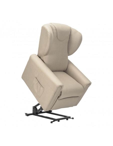 Sessel mit Aufstehhilfe Large, 2 Motoren. Stoffbezug
