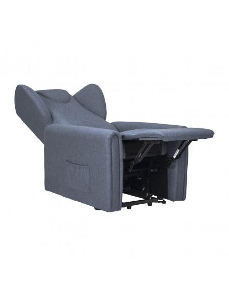 Sessel mit Aufstehhilfe, 2 Motoren. Small. Stoffbezug