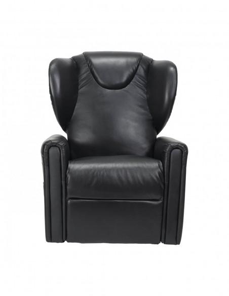 Sessel mit Aufstehhilfe, 2 Motoren. Small. Aus Leder